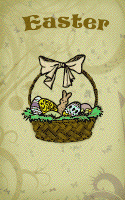 Basket Full of Gifts Easter Card